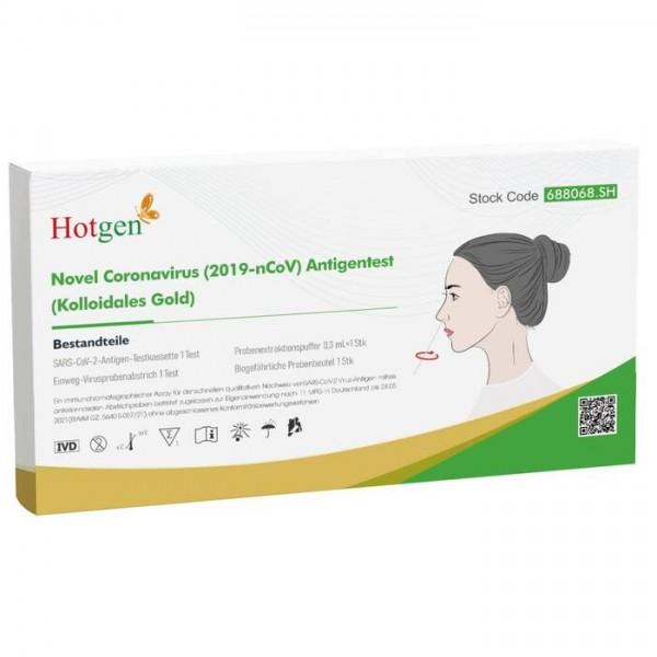 Hotgen Biotech Laientest - BfArM gelistet AT282/21 (Einzeln verpackt)