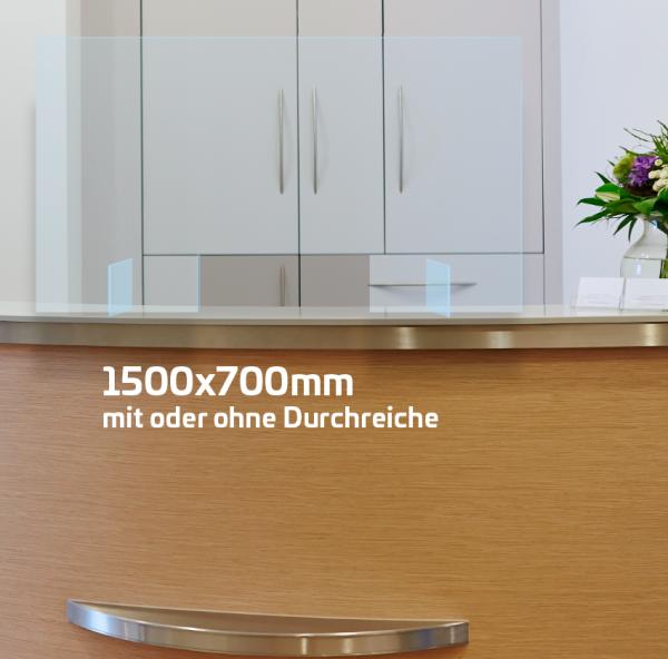 Husten- und Niesschutz verschiedene Größen ab 45,50* Euro