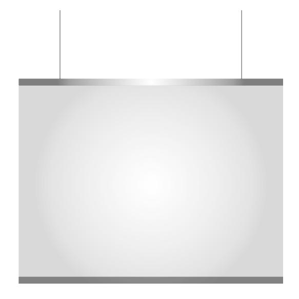 Husten- und Niesschutz: Hochtransparente Folie mit Klemmleisten