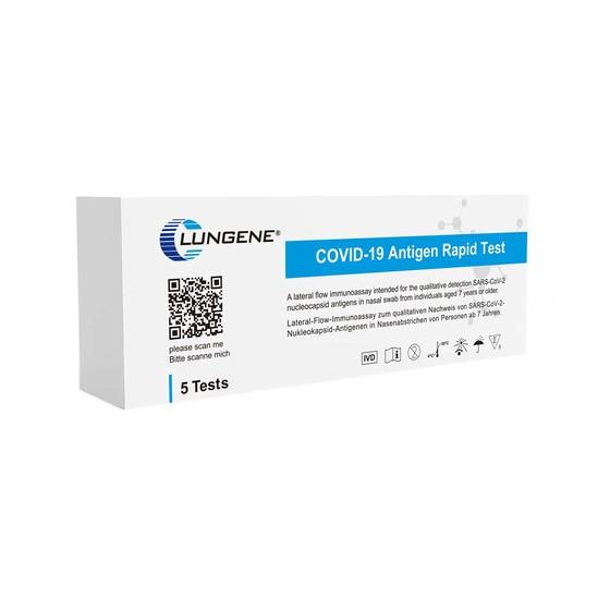 Laientest CLUNGENE COVID-19 Antigen Rapid Test SARS-CoV-2 (5er Pack)