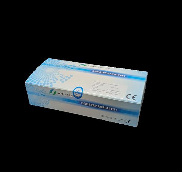 Safecare Covid-19 Nasenrachen Antigen Schnelltest (25er Packung)